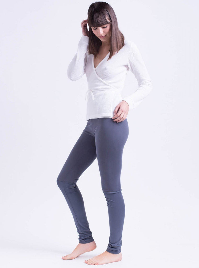 Tutu.B Nana Dark Grey Leggings - Moxie Tel-Aviv
