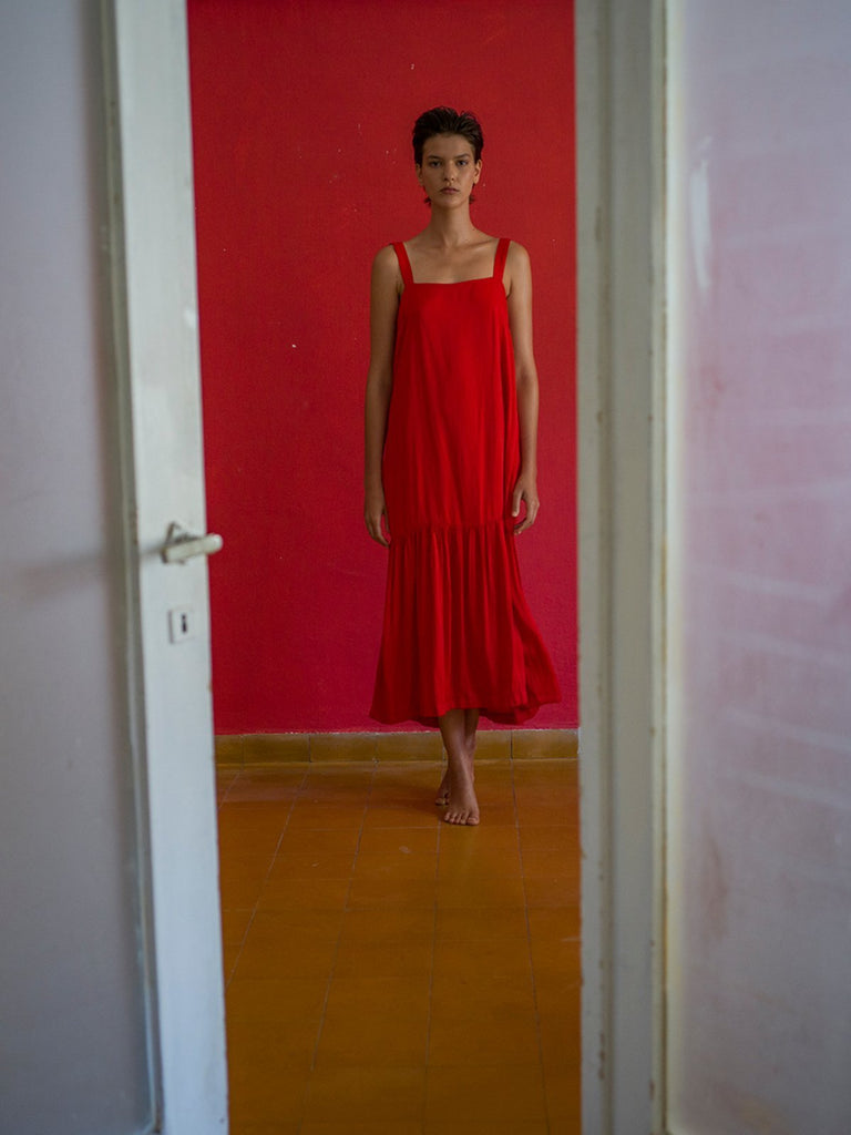 Tutu.B The Perfect Dress - Red - Moxie Tel-Aviv
