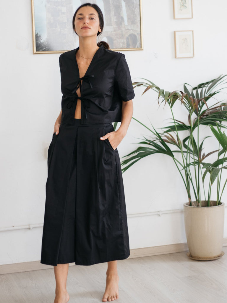 Tutu.b The Tailored Skirt - Black - Moxie Tel-Aviv
