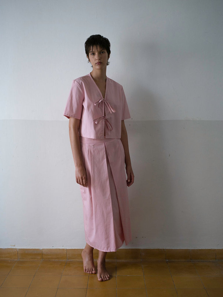 Tutu.B The Tailored Skirt - Pastel Pink - Moxie Tel-Aviv