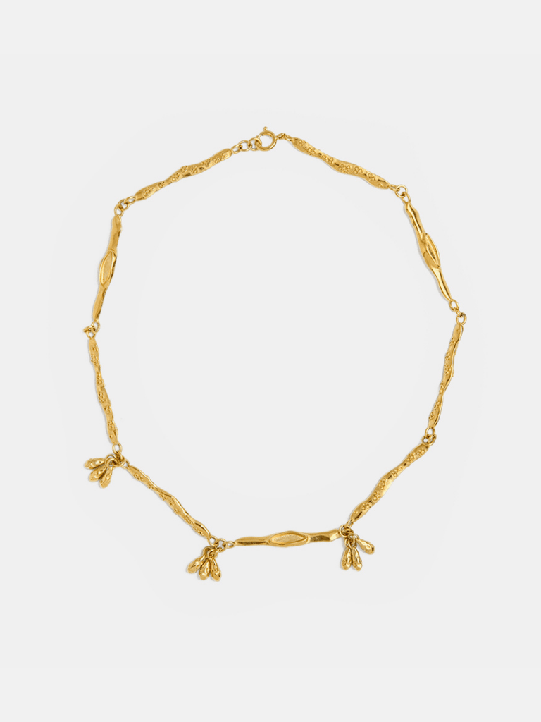 Yoster Dangling Burrow Necklace - Moxie Tel-Aviv