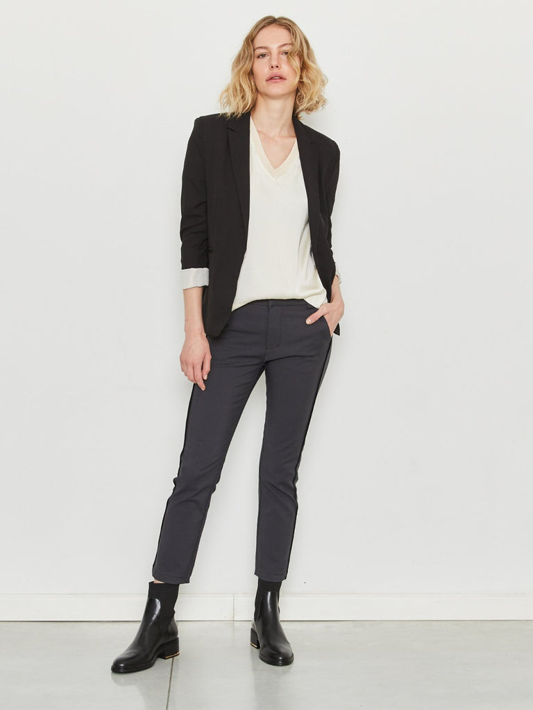 Zucker The Cool Fit Blazer - Black - Moxie Tel-Aviv