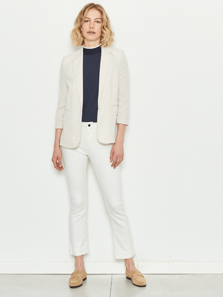 Zucker The Cool Fit Blazer - Pearl - Moxie Tel-Aviv