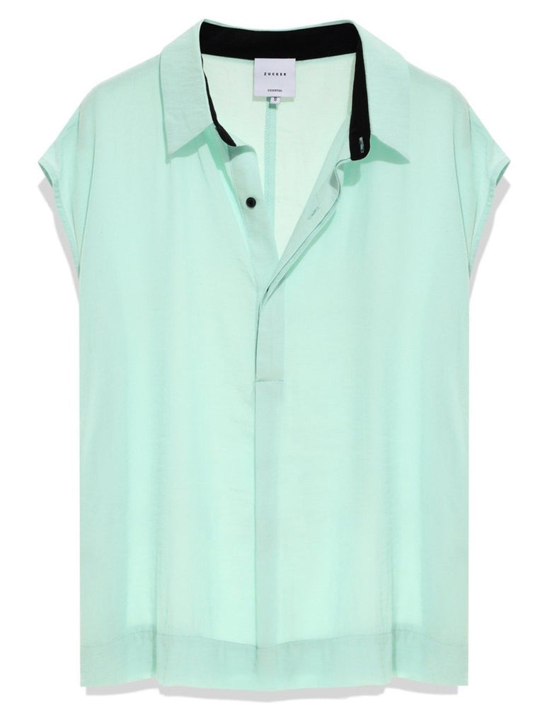 Zucker The Henely Top - Mint - Moxie Tel-Aviv