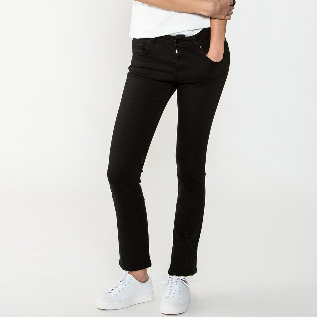 Zucker The Super Stretch Denim - Black - Moxie Tel-Aviv