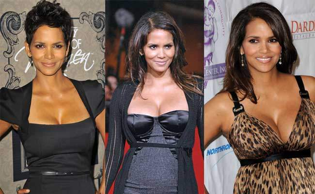 Halle Berry Before and After Breast Surgery