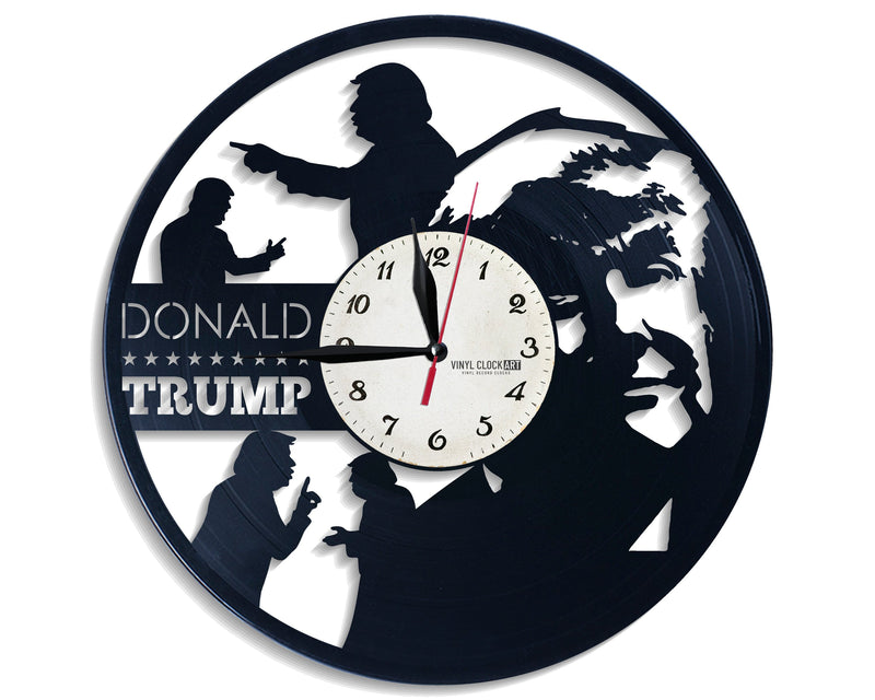 Carefully designed Trump Organization clock to emphasize your home