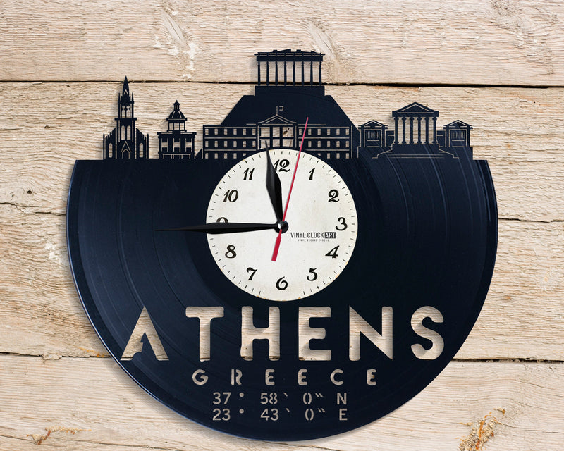 Wall Clock for City