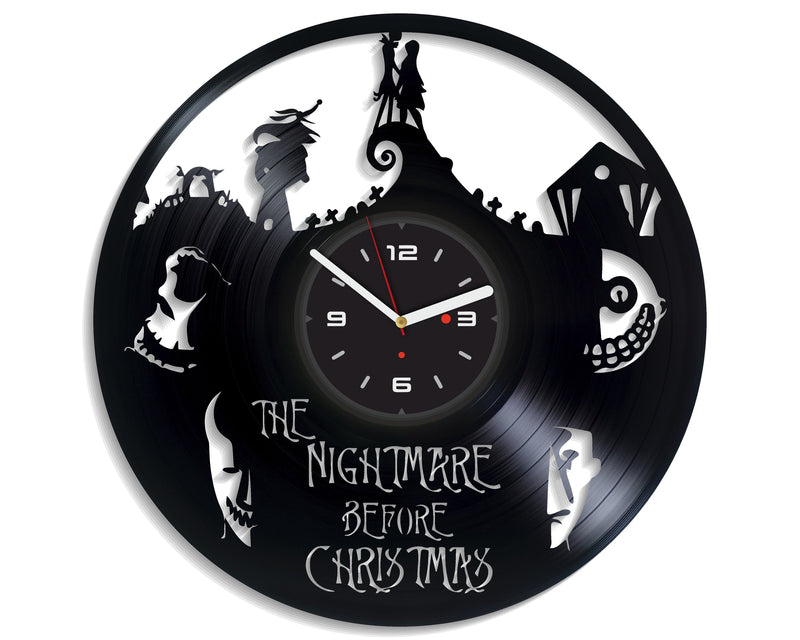 Vinil Clock nbc, Wall Clock, Vinyl Art, Wall Art, Christmass Gift, Home Decor Clock, nbc 651