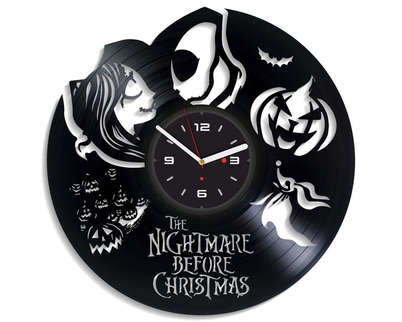 Vinil Clock nbc, Wall Clock, Vinyl Art, Wall Art, Christmass Gift, Home Decor Clock, nbc 652