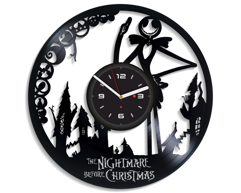 Vinil Clock nbc, Wall Clock, Vinyl Art, Wall Art, Christmass Gift, Home Decor Clock, nbc 666