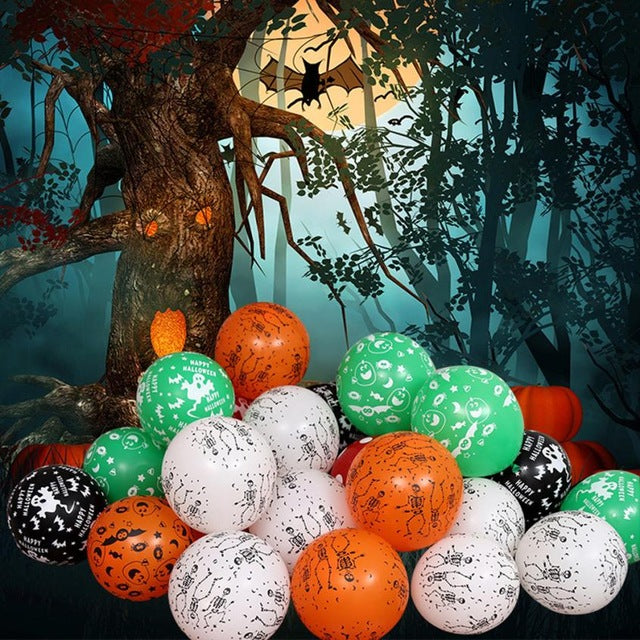 100Pcs Halloween Birthday Party Decoration