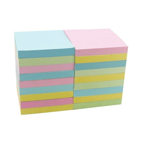 18 Pads 4A 303x18 Sticky Notes 3 x 3 Inches Cute Stationary Pastel