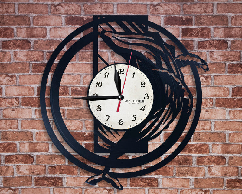 Sea wall clock for those about to rock
