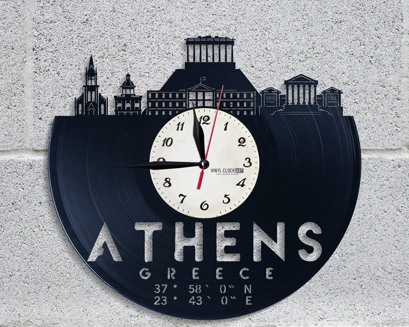 Parthenon clock to her feel better
