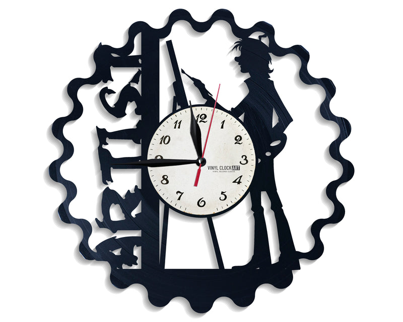 "Romantic wall clock ""Painting"" to make him fall in love"