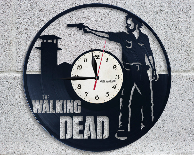 Wall clock Zombie Apocalypse best gift for sweetheart