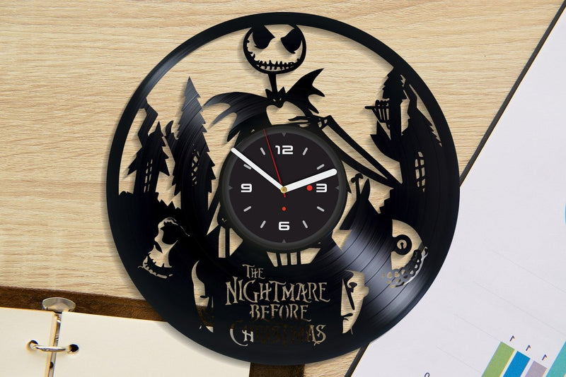 Vinil Clock nbc, Wall Clock, Vinyl Art, Wall Art, Christmass Gift, Home Decor Clock, nbc 654
