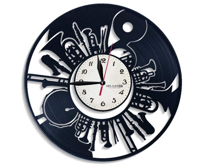 Instruments top wall clock on your wall