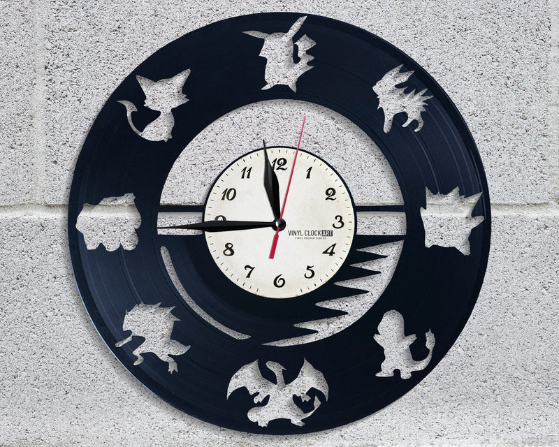 Carefully designed Characters clock to emphasize your style