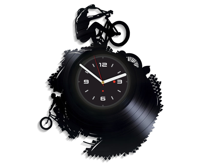 Vinil Clock extreme, Wall Clock, Vinyl Art, Wall Art, Christmass Gift, Home Decor Clock, extreme 1082