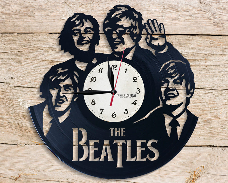 George Harrison wall clock for those about to rock