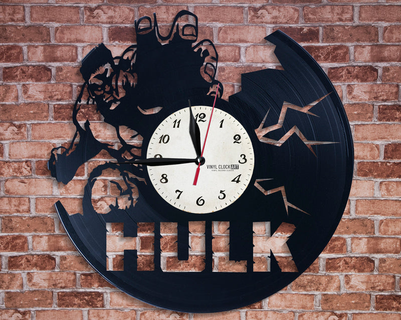 Fantastic wall clock Marvel - best solution for any decoration