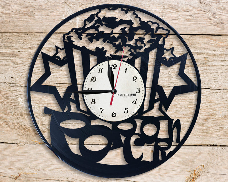 Vinyl Time For Relax wall clock to impress your personality