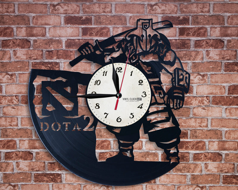 Gamer wall clock for those about to rock