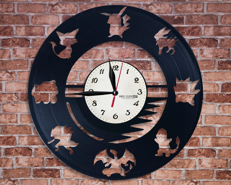Fantastic wall clock for Child hater
