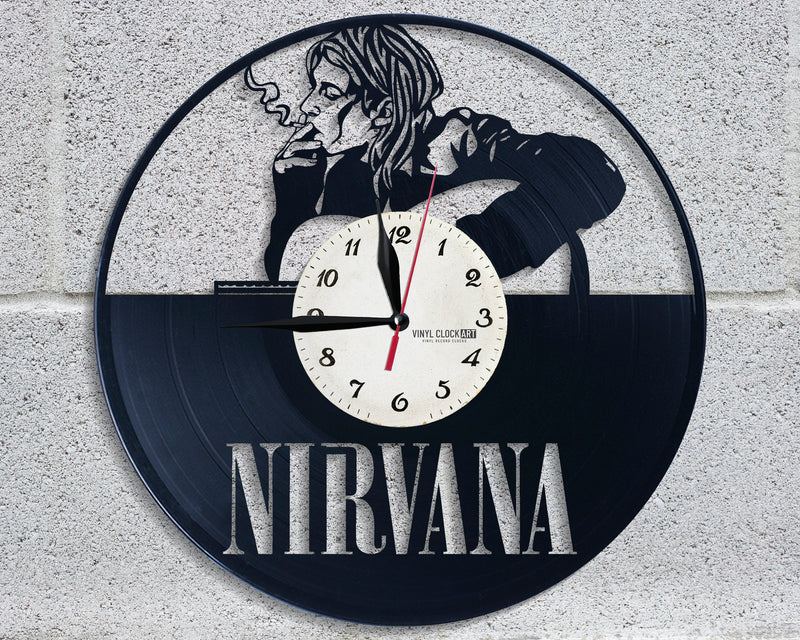 Cool Kurt Cobain wall clock to impress your friends
