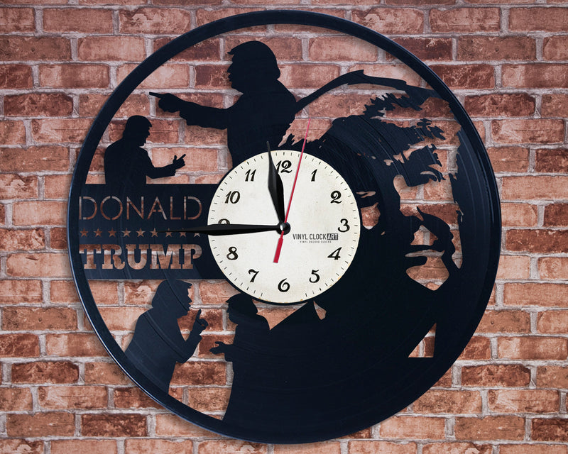Republican wall clock to make your shop a fan place
