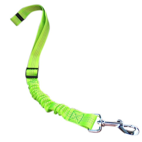 Reflective Adjustable Dog Seat Belt Pets Safety Leashes Retractable Vehicle Car Leash For Pet