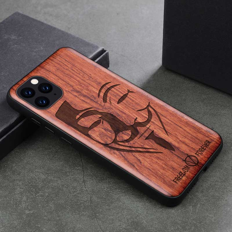 Natural Wood Case For  iPhone XR/11/11 Pro/Pro Max - EtsySales