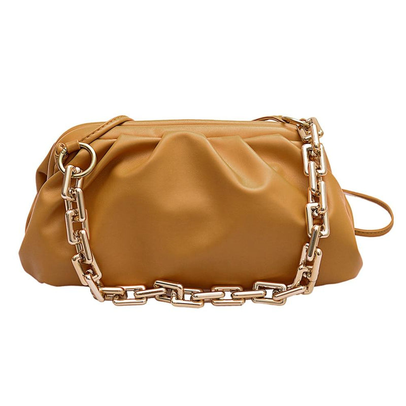 Vintage Female Soft Crossbody Bag  New Quality Leather Women's Designer Handbag Vintage Chain Ladies Shoulder Messenger Bags - EtsySales