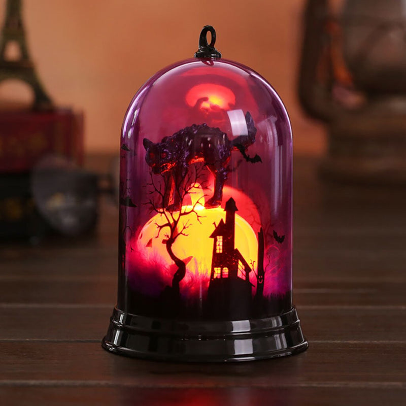 Happy Halloween Miniature Figurines Small Lampshade Pumpkin Art Supply holiday Decoration Gifts