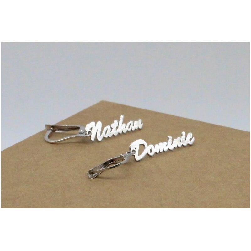 Name Earrings Personalized Earrings Gold Name Earrings Custom Name Earrings Personalized Name Earrings Stainless Steel Earrings