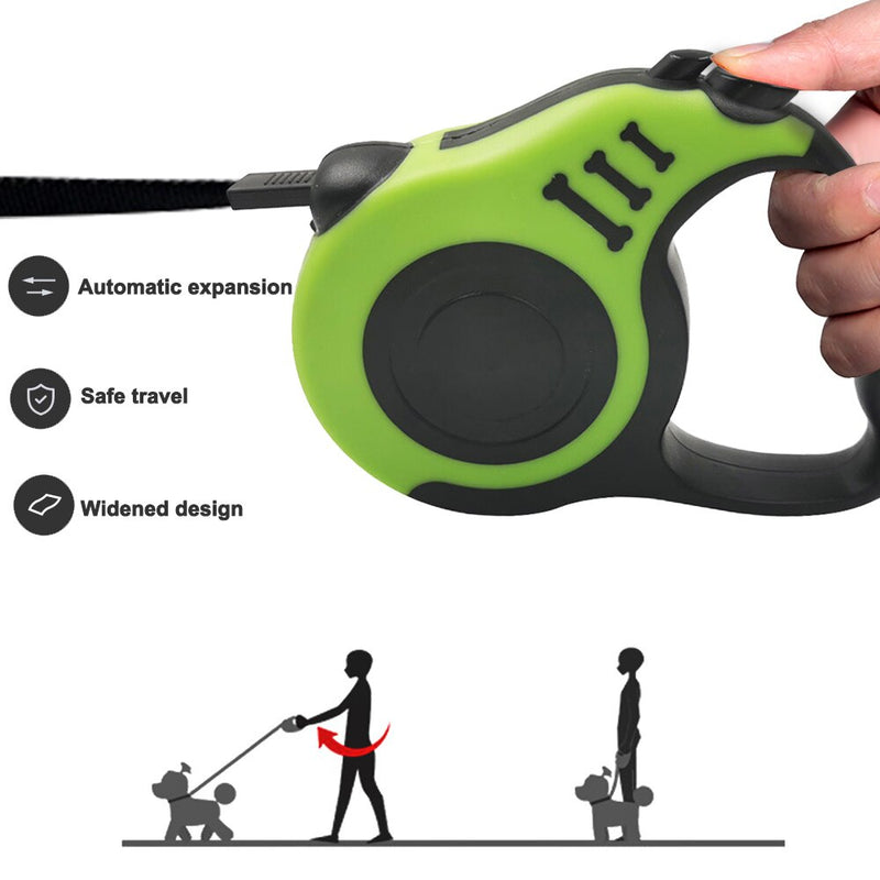 Retractable Dog Leash Automatic Flexible Dog Leash Dog Cat Traction Rope Leashes For Small Medium Dogs Pet Products