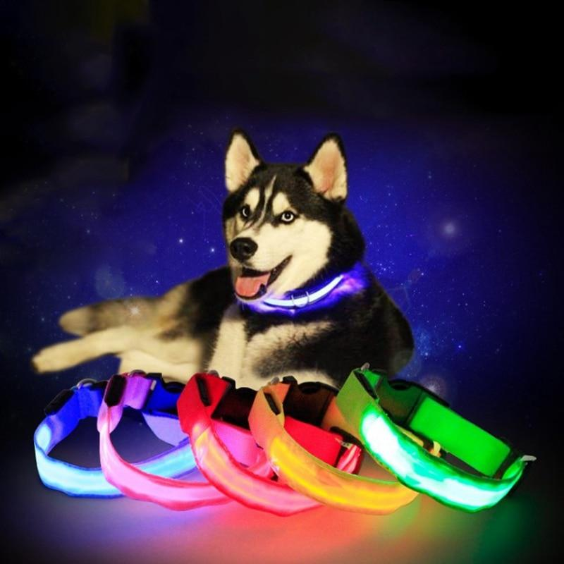 Led Dog Collar Anti-Lost/Avoid Car Accident Collar For Dogs Puppies Dog LED Collars Leads Supplies Pet Products - EtsySales