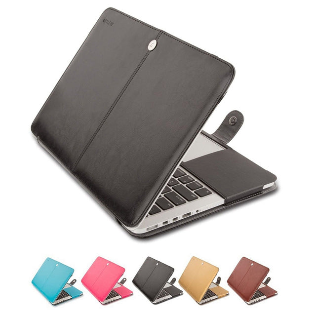Portable PU Leather Case for Macbook Pro 13
