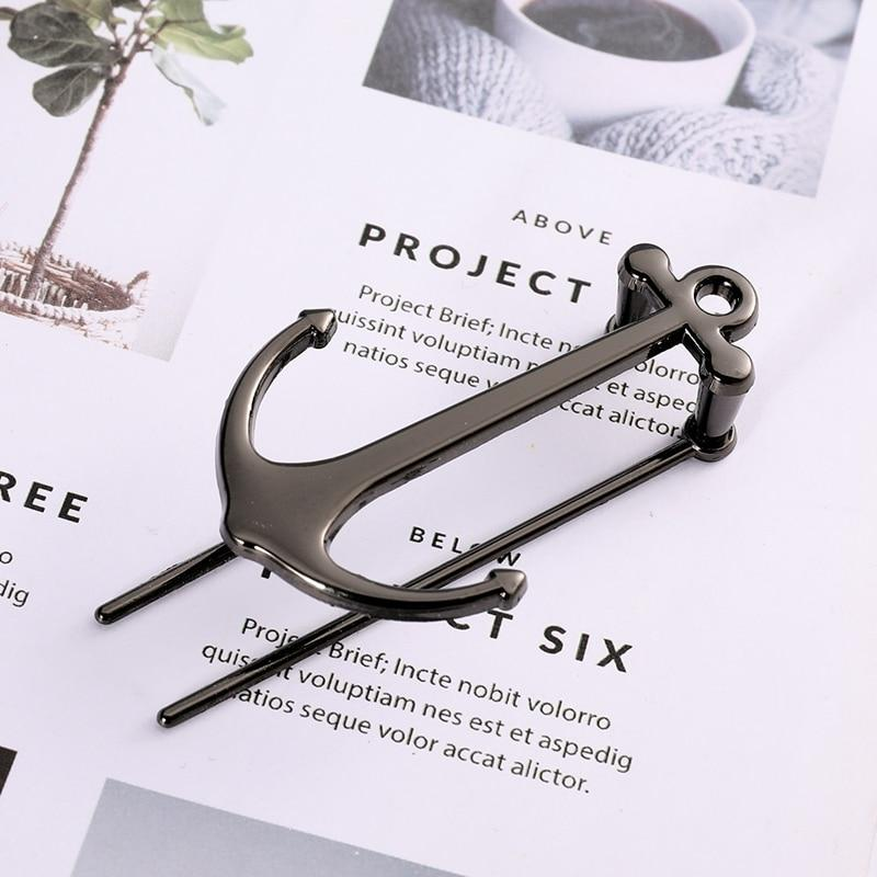 Anchor Bookmarks Creative Bookmark Metal Page Holder for Students Teachers Graduation Gifts School Office Supplies - Bookmarks