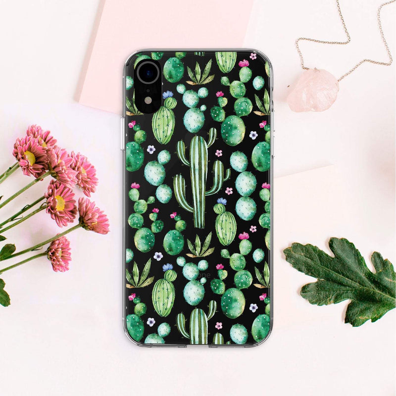 Cactus Print iPhone XS Max Case Cacti iPhone 8 Case iPhone 8 Plus Case Phone iPhone X Case Summer iPhone 7 Cover iPhone XR Cases CA2350 - Phone Cases