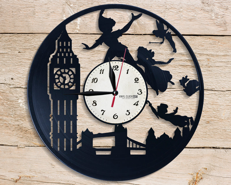 Neverland indoor medium sized wall clock