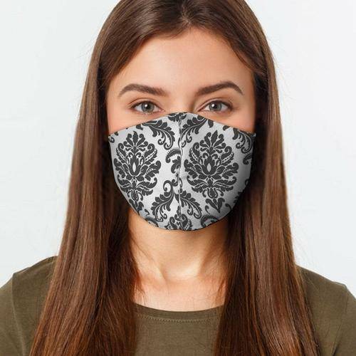 Damask Face Cover, US Fast Shipping - Face Masks & Coverings