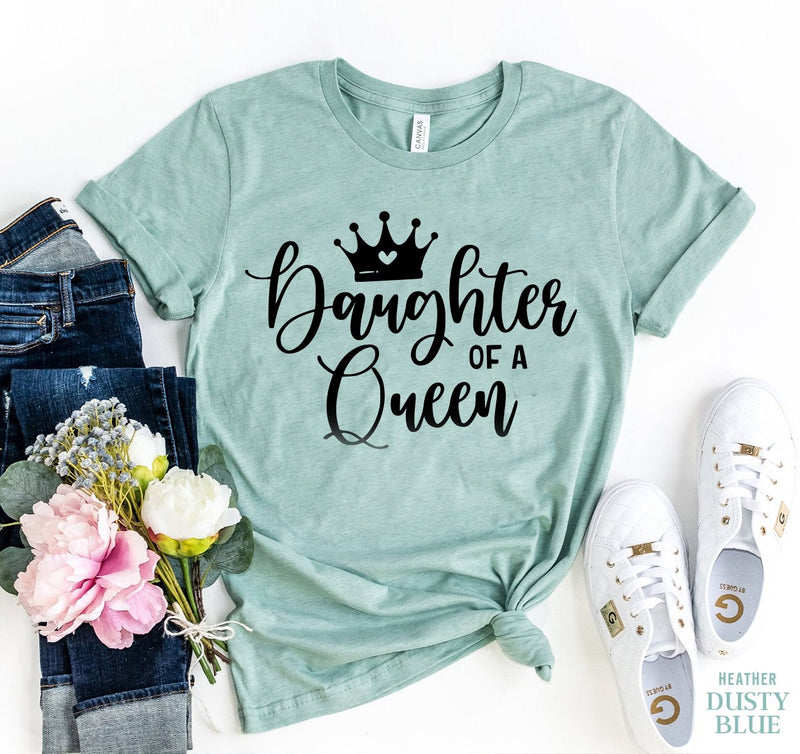 Mother Of a Princess Shirt, Daughter Of A Queen Shirt - EtsySales