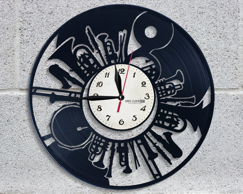 Provocative Musician styled wall clock