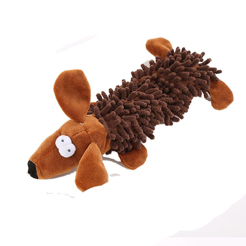 Dog Squeaky Toy Dog Toy Plush Animal for Small Medium Dog personality Leisure Dog Toy Convenience daily practical - Dog Toys