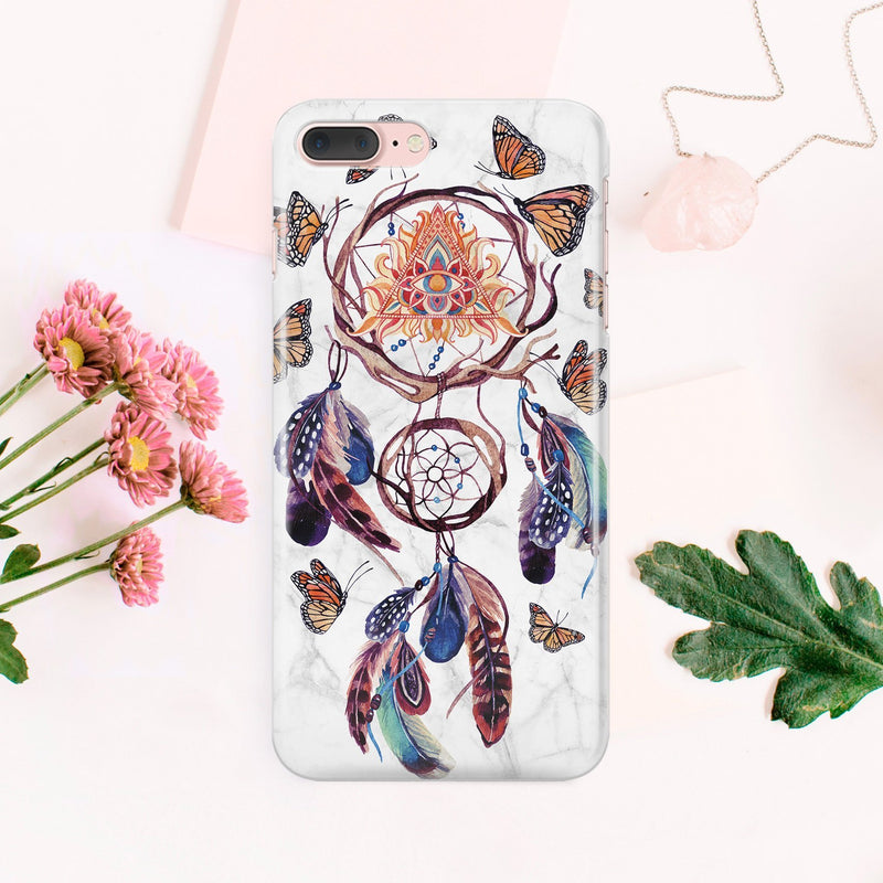 Dreamcatcher Phone Case iPhone 8 Case iPhone 7 Plus Case Samsung Galaxy S8 Plus Case Note 8 Case iPhone X Case Galaxy S6 S7 Edge Case CA2133 - Phone Cases