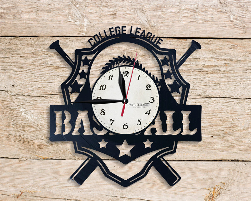 Wall clock with Sport logo