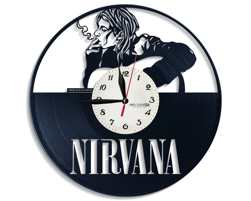 Nirvana jewel among the wall clocks